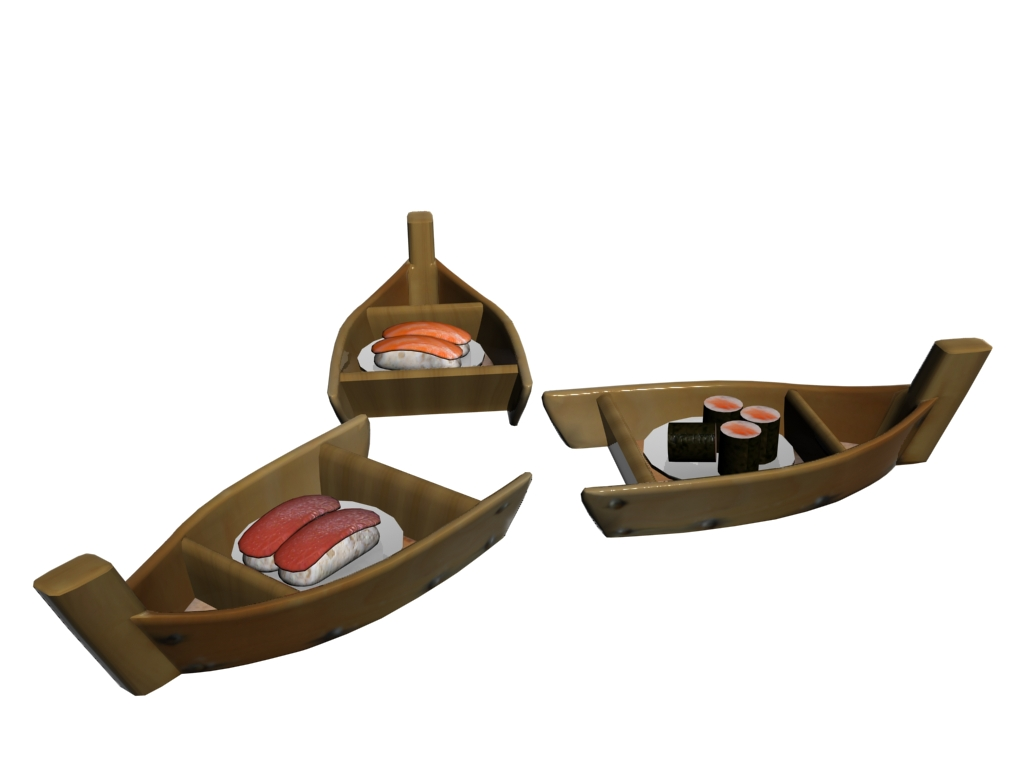 Barques à sushi (2009)