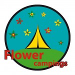 Logo pour Flower Camping
