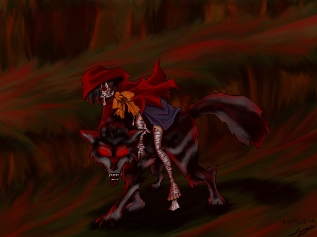 The red ridding hood